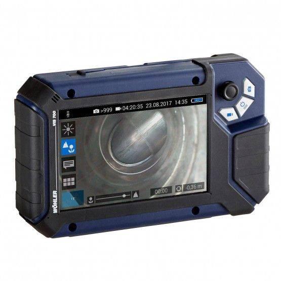 Unità monitor Wöhler VIS 700 HD