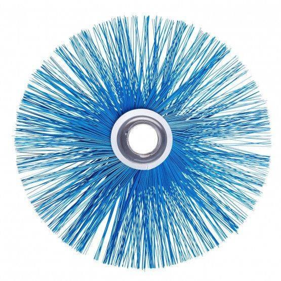 Spazzola sintetica HT 250° C Ø 20 cm