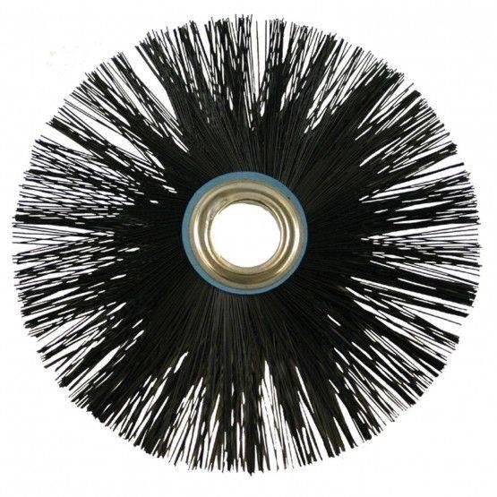 spazzole, con foro 28 mm diam., Perlon,