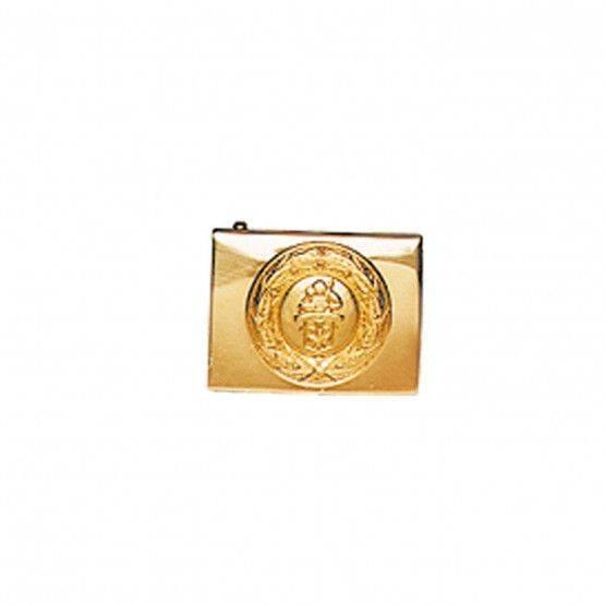 Fibbia con stemma San Floriano