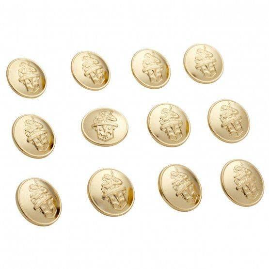 Bottoni d'orati con stemma san Floriano