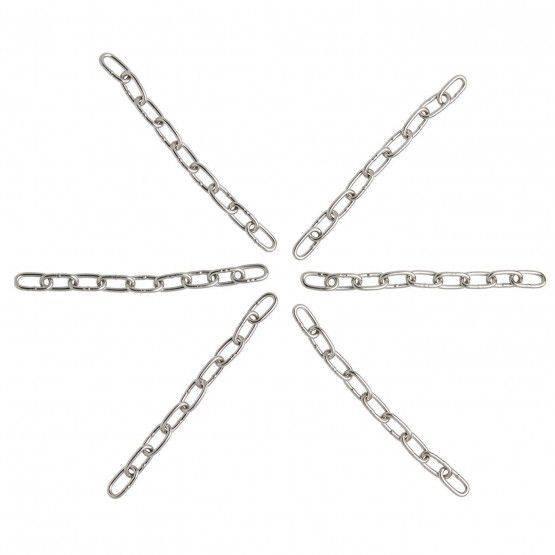 Catena inox 3 mm, 6 x 25 cm
