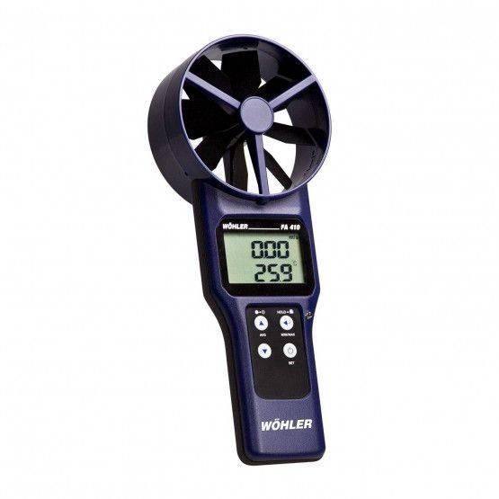Wöhler FA 410 termoanemometro