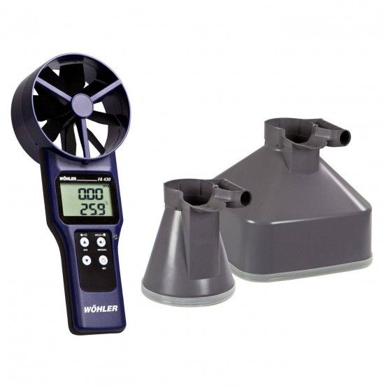Wöhler FA 430 Termoanemometro e CO2