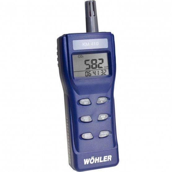 Wöhler KM 410 analizzatore universale per ambienti