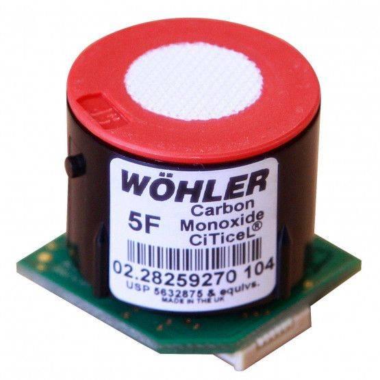 CO sensore precalibrato in fabbrica
