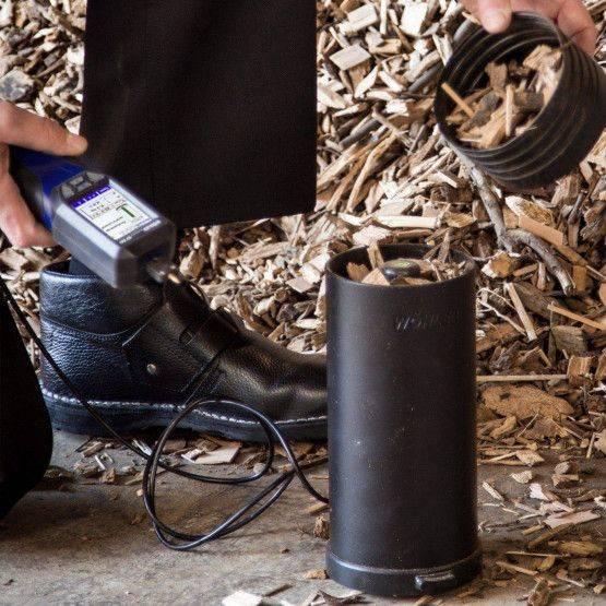 Wöhler HF-FW 550 set analisi biomassa