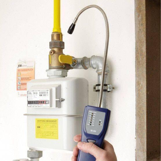 Wöhler GS 220 cercafughe gas