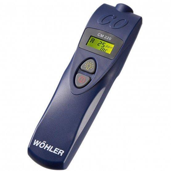 Wöhler CM 220 analizzatore CO ambiente
