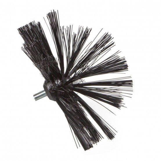 Wöhler spazzola Perlon semisfera