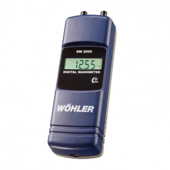 Wöhler DM 2000 manometro digitale 2 bar