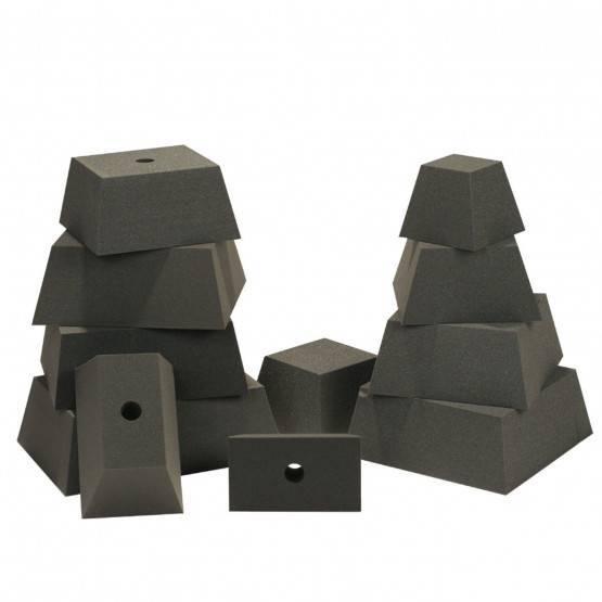 Set 11 tappi quadrati e rettangolari DP