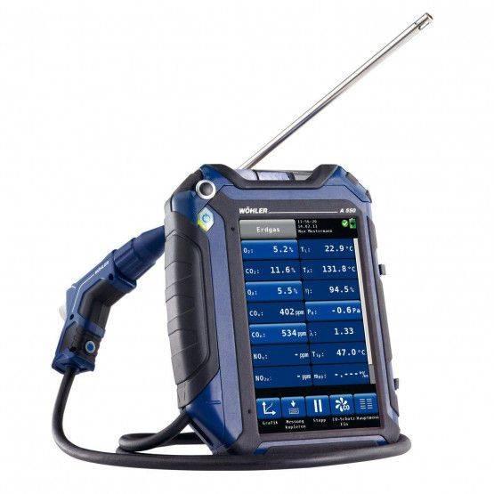 Wöhler A 550 HCO analizzatore universale