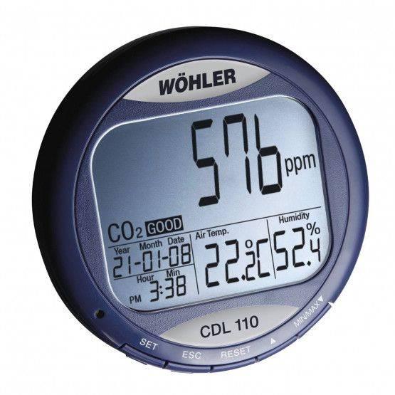 Wöhler CDL 110 CO2-Data Monitor