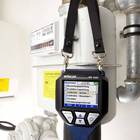 Wöhler DC 430 analizzatore di tenuta