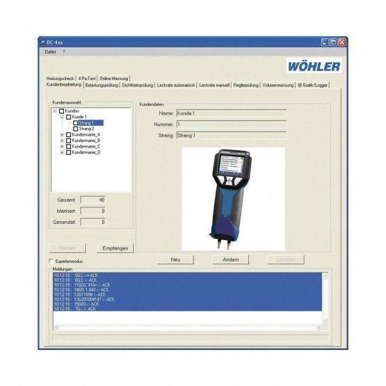 Programma Wöhler DC4xx / DP600